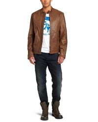 Diesel Lagnum Goat Leather Jacket