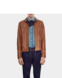 Gucci Deerskin Leather Jacket