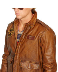 3b9f52c3e3 ... Bomber Jackets Polo Ralph Lauren Leather Farrington A2 Jacket Polo  Ralph Lauren Leather Farrington A2 Jacket ...