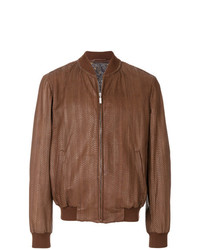 Brioni Long Sleeved Bomber Jacket