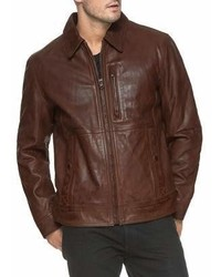 Andrew Marc Marc New York Hanover Leather Jacket