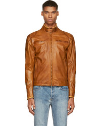 Osborne Matchless Brown Leather Jacket