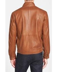 size 40 8fe58 1b705 $599, Missani Le Collezioni Leather Bomber Jacket