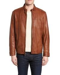 Missani Le Collezioni Zip Leather Jacket