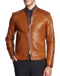 Fendi Perforated Leather Jacket