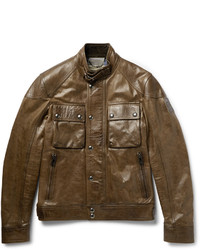 Belstaff Racemaster Leather Jacket