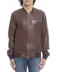 Sword 6644 Sword 6644 Brown Leather Outerwear Jacket