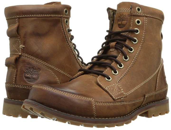 Awesome ... Timberland Earthkeepers Rugged Original Leather 6 Boot Lace Up Boots ...