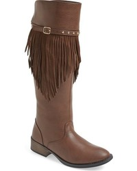Kenneth Cole New York Girls Downtown Fringe Boot