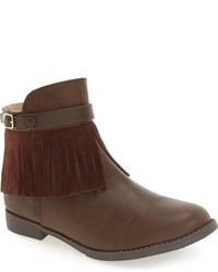 Ivanka Trump Girls Nancy Fringe Bootie