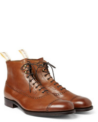 Foot the Coacher Grenson Balmoral Leather Oxford Brogue Boots