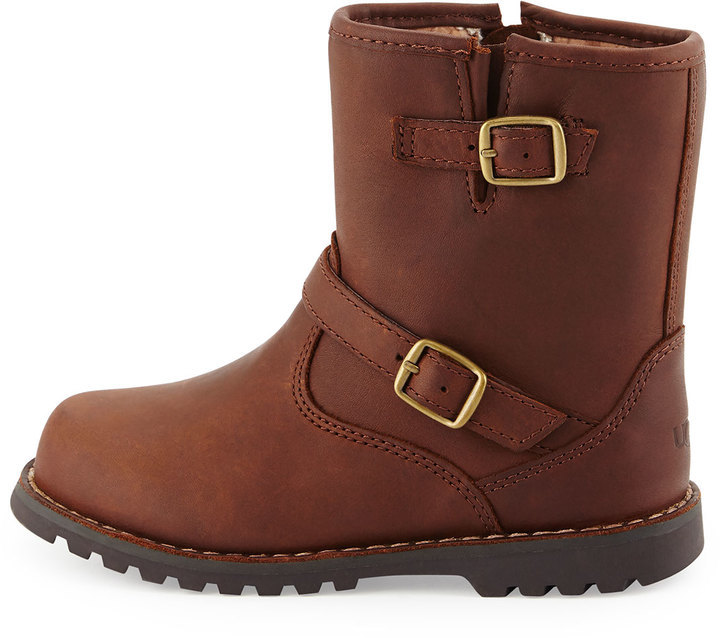 1f8d6547f29 Harwell Leather Buckle Trim Boot Stout Toddler Sizes 6 12