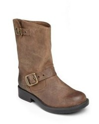Frye Kids Engineer Waxed Leather Boots