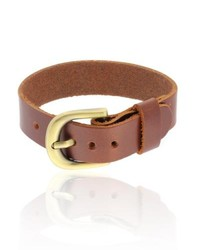 Gravity Dolce Giavonna Smooth Leather Cuff Bracelet