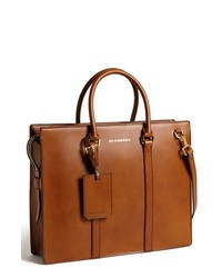 Burberry Ambrose Briefcase Brown Ochre One Size
