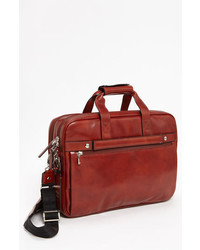 Double compartt leather briefcase medium 3677983