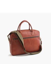 J.Crew Leather Briefcase