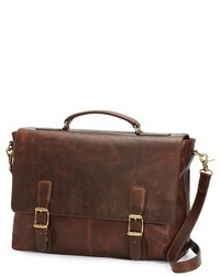 Logan leather briefcase brown medium 3677980