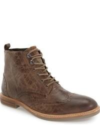 Ben Sherman Birk Wingtip Boot