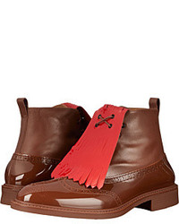 Vivienne Westwood Boot Brogue With Kiltie Lace Up Boots