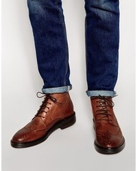Base London Brocket Brogue Boots