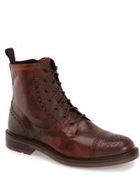 Boemos Cap Toe Boot Size 46 Eu Brown
