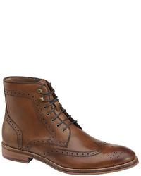 Johnston & Murphy Conard Wingtip Boots