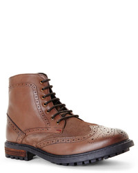 Ben Sherman Dark Brown Sanford Boots