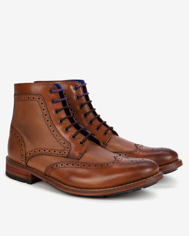 Leather Brogues Ted Baker vZtq4