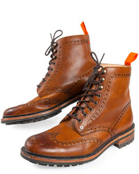 ... Superdry Premium Brogue Boots 9634509d402