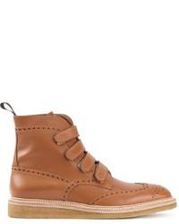 Weber Hodel Feder Velcro Brogue Boots