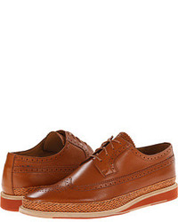 Paul Smith Kordan Wingtip Oxford Lace Up Wing Tip Shoes