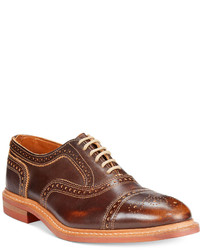 allen edmonds men s leather brogues from macy s men s fashion