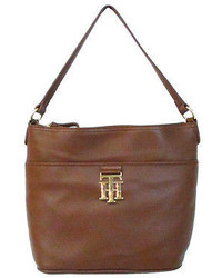 Tommy Hilfiger Bucket Bag In Brown