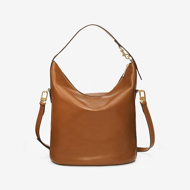 Soft Leather Bucket Bag Brown By Kate Spade Saay