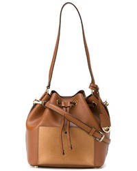 Michl michl kors greenwich bucket shoulder bag medium 626358
