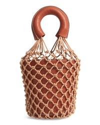 Staud Moreau Cage Bucket Bag