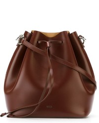 No.21 No21 Drawstring Bucket Shoulder Bag