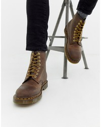 Dr. Martens 1460 8 Eye Boots In Brown