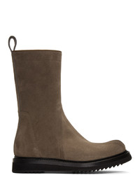 Rick Owens Brown Creeper Boots