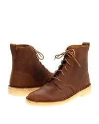 Desert mali boot lace up boots beeswax leather medium 358835