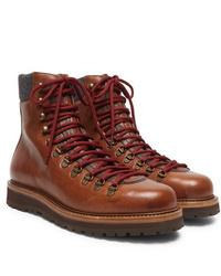 Brunello Cucinelli Full Grain Leather Boots