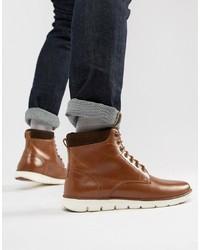 Kg Kurt Geiger Kg By Kurt Geiger Gregory Hybrid Sole Leather Cuff Boots
