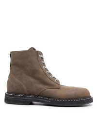 Golden Goose Lace Up Leather Ankle Boots
