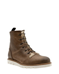 Ross & Snow Monte Water Resistant Genuine Shearling Boot
