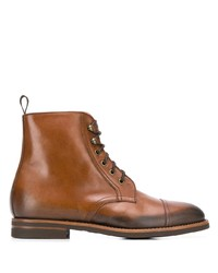 Scarosso Paolo Caramello Lace Up Boots