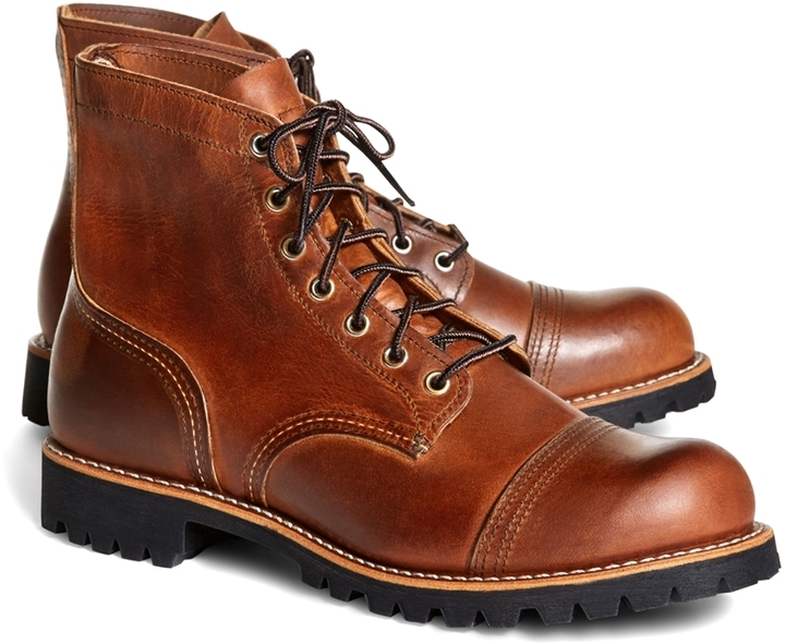 d2ddf164ee6 ... Brooks Brothers Red Wing For 4556 Iron Ranger Boots ...