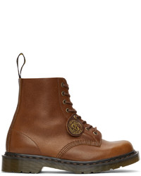 Dr. Martens Tan Cf Stead Made In England 1460 Pascal Boots
