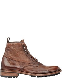 Barneys New York Washed Leather Boots