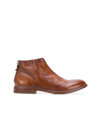 Moma Back Zip Ankle Boots